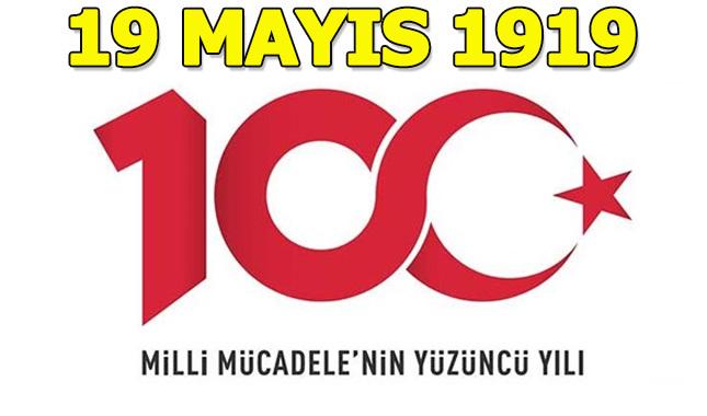 19 Mayıs'ın 100. yılına özel logo