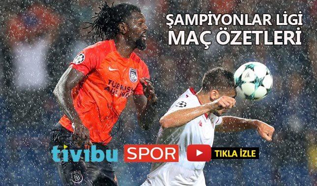 2017-2018 UEFA Şampiyonlar Ligi maç özetleri ve toplu sonuçları - Tivibu Spor maç özetleri