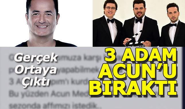 3 Adam TV 8 ile yolları ayırdı