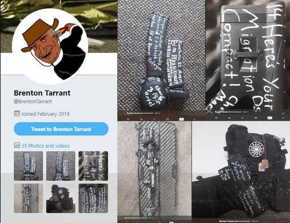 Brenton Tarrant Twitter Image: İşte Yeni Zelanda'da Cami Saldırısını Caninin Canlı Yayın