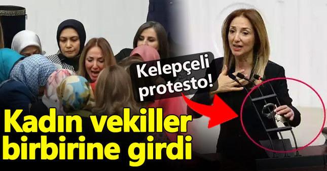 AK Parti'li kadın vekiller Aylın Nazlıaka'ya saldırdı