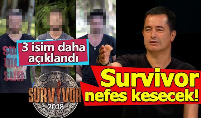 Acun Ilıcalı Survivor Allstar'a katılacak 3 ismi daha açıkladı - Survivor 2018 ne zaman başlayacak?