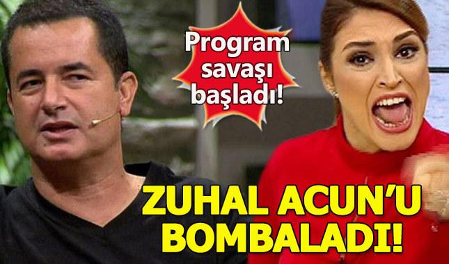 Acun'un hedef aldığı Zuhal Topal'dan ilk açıklama geldi
