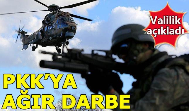 Ağrı'da PKK'ya ağır darbe