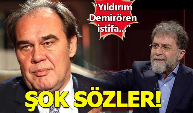 Ahmet Hakan'ın Yıldırım Demirören'le ilgili Tweet'i alay konusu oldu!