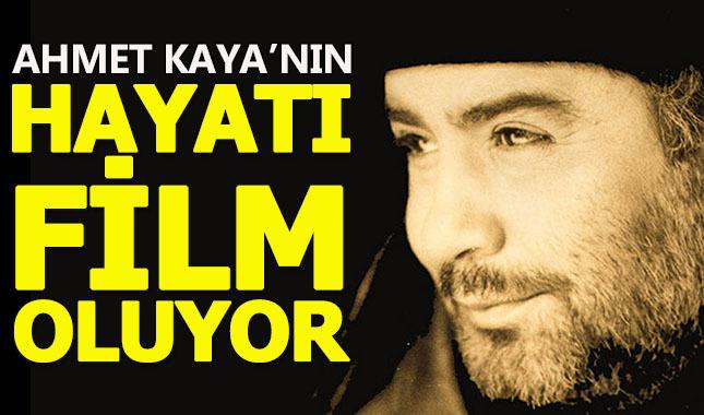 Ahmet Kaya'nın hayatı beyaz perdeye taşınıyor!