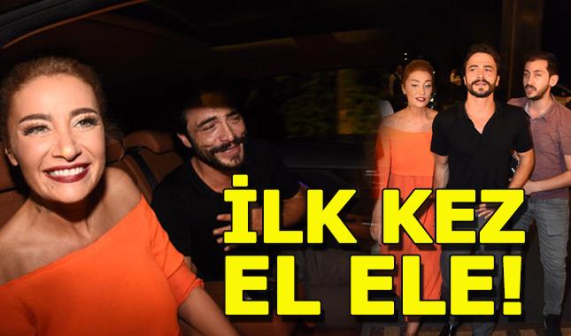 Ahmet Kural ve Sıla ilk kez el ele görüntülendi