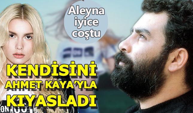 Aleyna Tilki kendisini Ahmet Kaya ile aynı kefeye koydu
