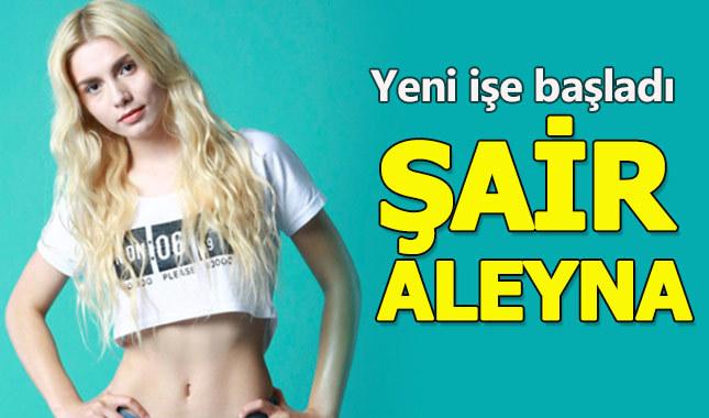 Aleyna Tilki o işe el attı