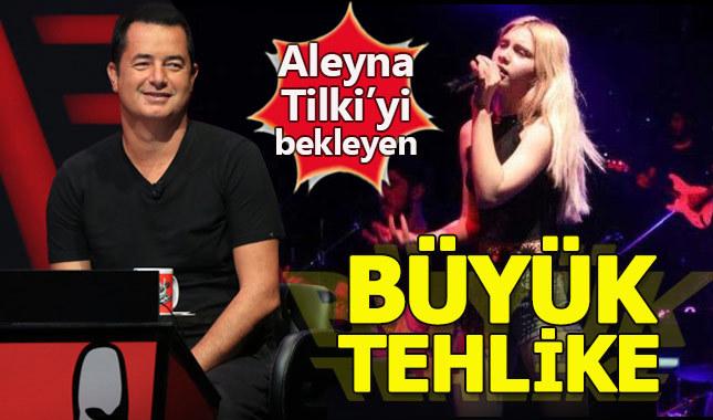 """Aleyna Tilki'yi bekleyen """"O Ses Türkiye"""" tehlikesi"""