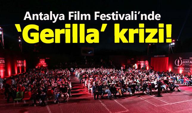 Antalya Film Festivalinde 'Gerilla' krizi çıktı