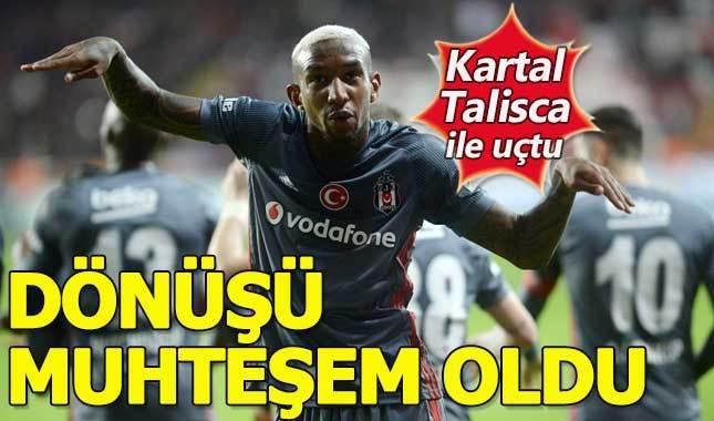 Antalyaspor 1-2 Beşiktaş MAÇ ÖZETİ GOLLER beIN Sports