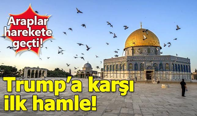 Araplardan Trump'a karşı ilk hamle geldi
