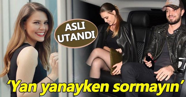 Aslı Enver Murat Boz'un yanında utandı