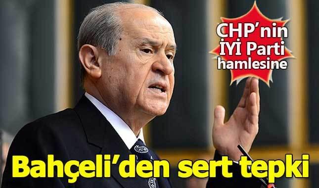 Bahçeli'den CHP-İYİ Parti anlaşmasına sert tepki