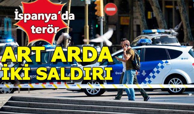 Barcelona'da art arda terör saldırıları