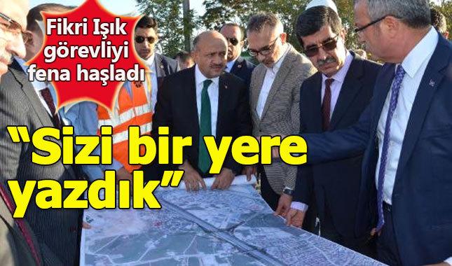 Başbakan Yardımcısı Işık, müteahhit firmaya çattı