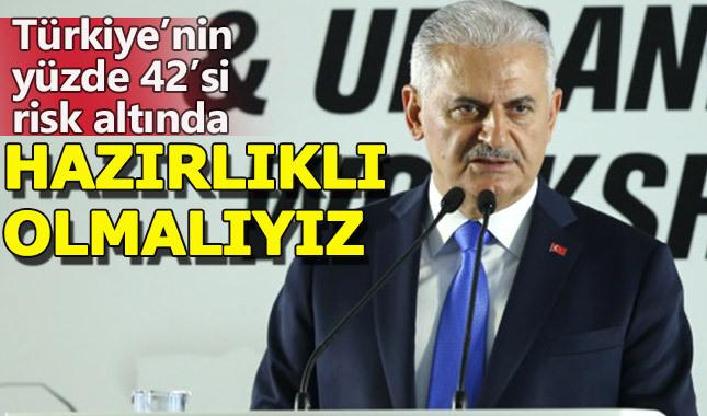 """Başbakan Yıldırım: """"Depremler doğudan batıya doğru ilerliyor"""""""