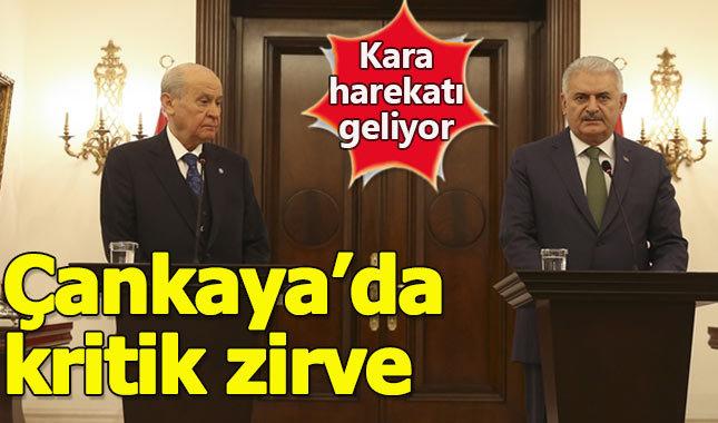 """Başbakan Yıldırım: """"Yarın kara harekatı başlıyor"""""""