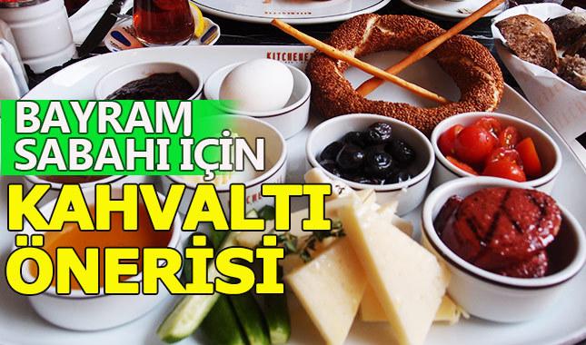 Bayram kahvaltısı menüsünde neler yer alır?