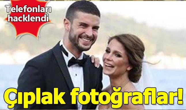 Berk Oktay'ın eşi Merve Şarapçıoğlu'un telefonu hacklendi! Çıplak fotoğrafları sosyal medyada paylaşıldı!