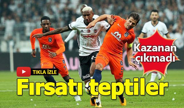 Beşiktaş 1-1 Başakşehir Maç Özeti goller Caner Erkin küfür beinSports