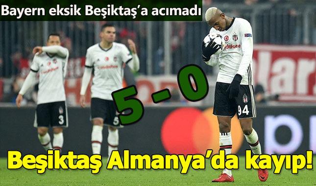 Beşiktaş Almanya'da dağıldı!