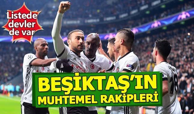 Beşiktaş'ın muhtemel rakipleri belli oldu - Şampiyonlar Ligi son 16 turu