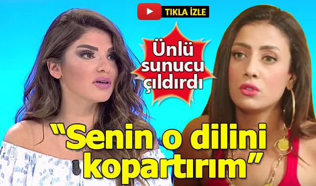 Bircan İpek canlı yayında Solmaz'a verdi veriştirdi