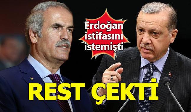 Bursa Büyükşehir Belediye Başkanı Recep Altepe'den istifa açıklaması