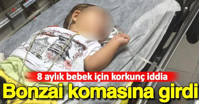 Bursa'da korkunç iddia! 8 aylık bebek bonzai komasına girdi