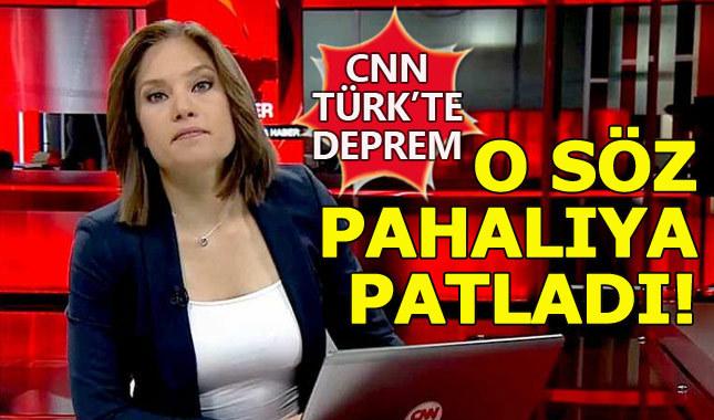 CNN Türk'te Nevşin Mengü depremi