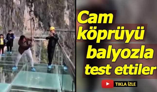 Cam köprüyü ölümüne test etmek!