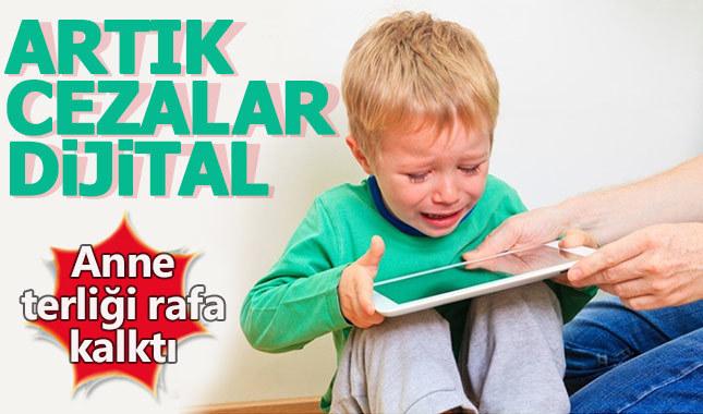 Çocuklara artık dijital cezalar veriliyor