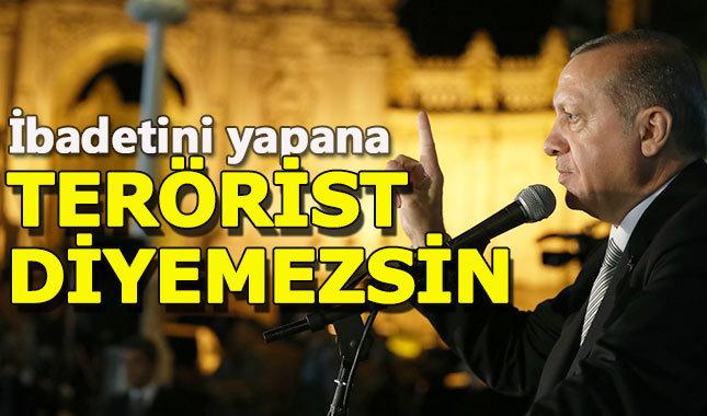 Cumhurbaşkanı Erdoğan'dan İsrail'e sert tepki
