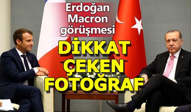 Cumhurbaşkanlığı'ndan Erdoğan-Macron görüşmesine gönderme