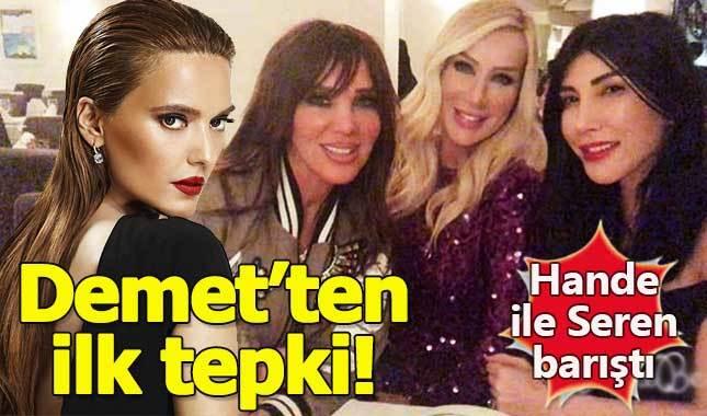 Demet Akalın'dan Hande Yener ve Seren Serengil'in barışmasına ilk tepki