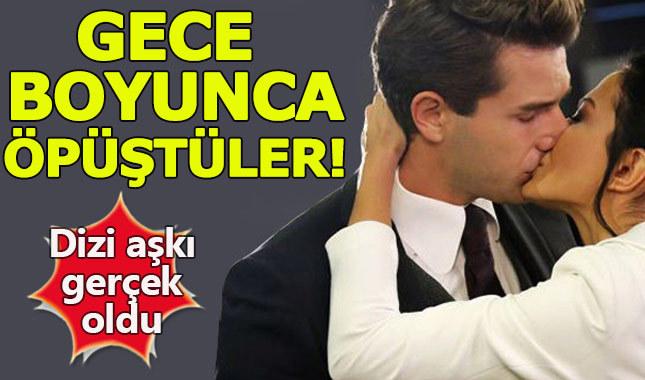 Demet Özdemir ve Furkan Palalı gece boyunca öpüştü