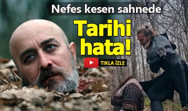 Diriliş Ertuğrul'daki sahnede tarihi hata!