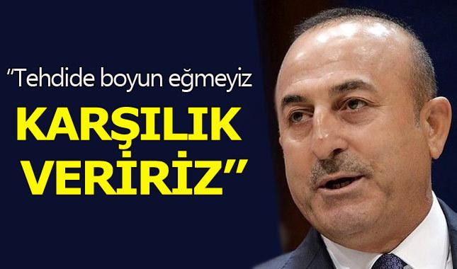 Dışişleri Bakanı Mevlüt Çavuşoğlu'ndan Almanya'ya sert yanıt