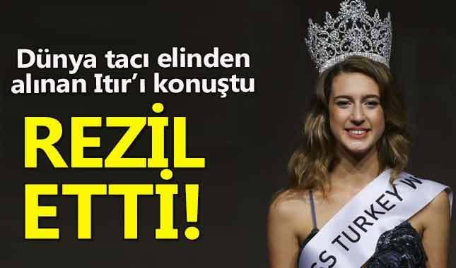 Dünya 'Taçsız kraliçe' Itır Esen'i gündeme taşıdı