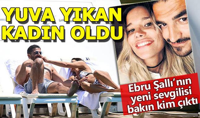 Ebru Şallı'nın yeni sevgilisi evli ve çocuklu çıktı!