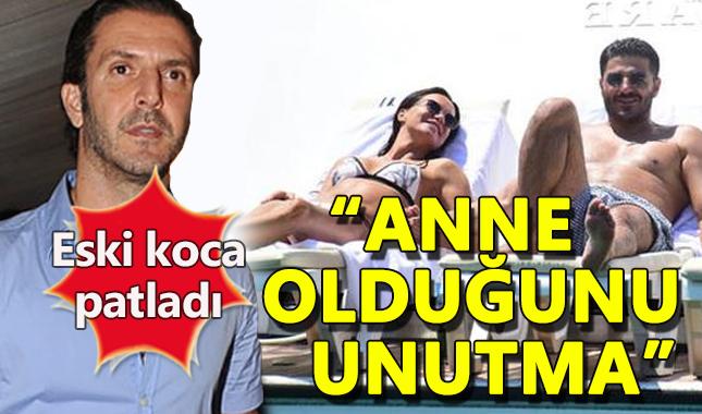 Ebru Şallı'ya eski kocasından ayar: İki çocuk annesi olduğunu unutma
