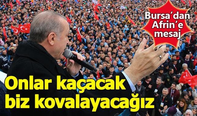 """Erdoğan: """"Afrin'den kısa sürede çıkacağız"""""""