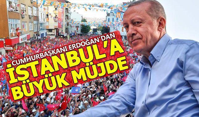 Erdoğan, Gaziosmanpaşa mitinginde önemli açıklamalarda bulundu