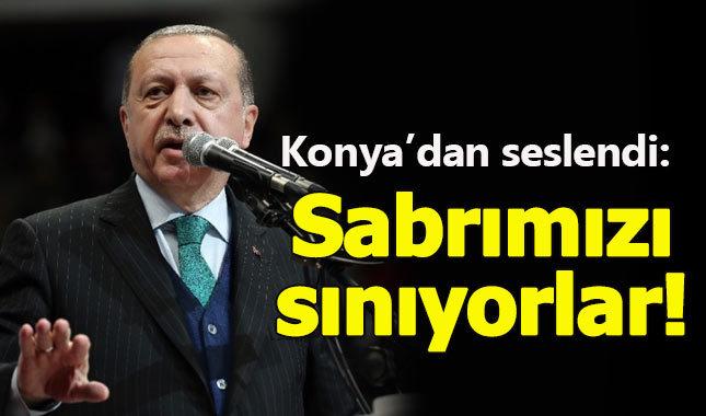 Erdoğan, Şeb-i Arus programında sert konuştu