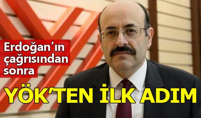 """Erdoğan'ın """"doçentlik"""" talimatı sonrası YÖK'ten ilk adım"""