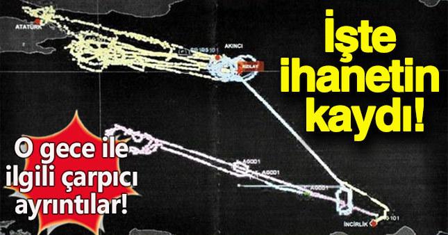 F16'lara o gece 20 kez yakıt nakli yapılmış