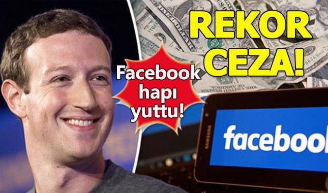 Facebook'a milyar dolarlık ceza