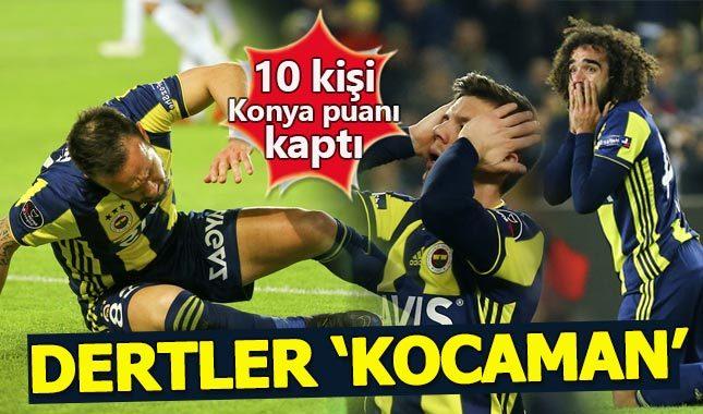 Fenerbahçe 1-1 Atiker Konyaspor Maç Özeti
